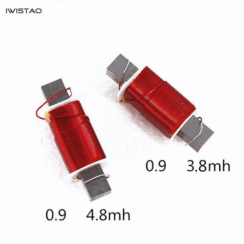 IWISTAO Professional Inductor Square High Density Oxygen Free Copper Inductor Coil for Speaker Crossover