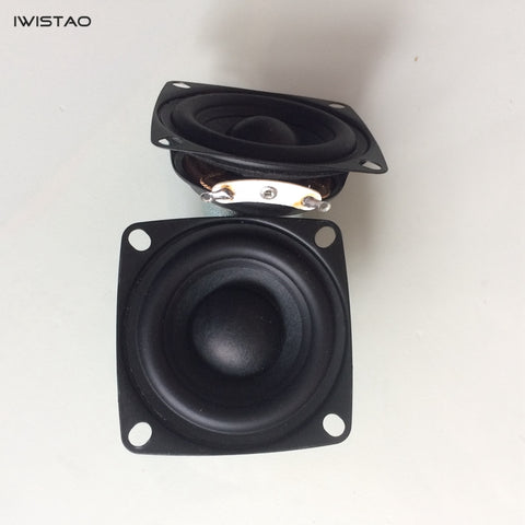 HIFI 2 Inch Full Range Speaker Unit 4/8 ohms 15W 118Hz-20 KHz for Computer Speakers Audio