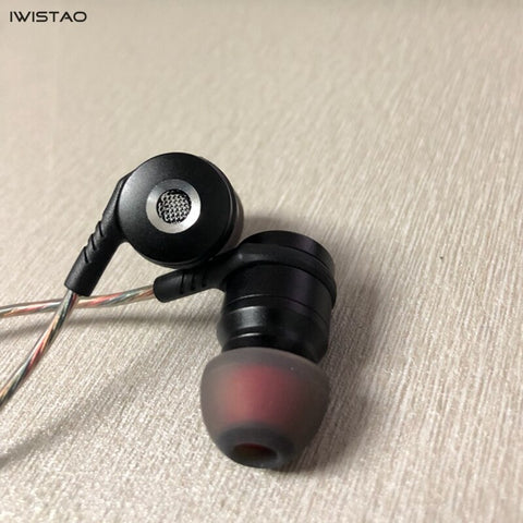 HIFI In-ear Style Coil-iron Headphone Low Frequency Shock 3.5mm Jack 32Ω 20-20KHz 95dB/mW