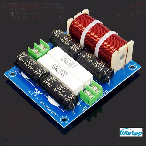 IWISTAO HIFI Car 2 Way Crossover Max 200W Crossover-point 3.5KHz 4 ohm for 6.5 Inch Unit
