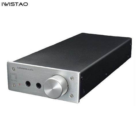 Headphone Amplifier HIFI with Lehmann OPA2134PA High-grade Aluminum Chassis 16-600 ohms