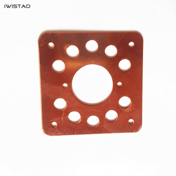 IWISTAO 1.5MM Littl 9 Pin Tube Copper-plated Shock Absorber Plate for 6N2 12AX7 EL84