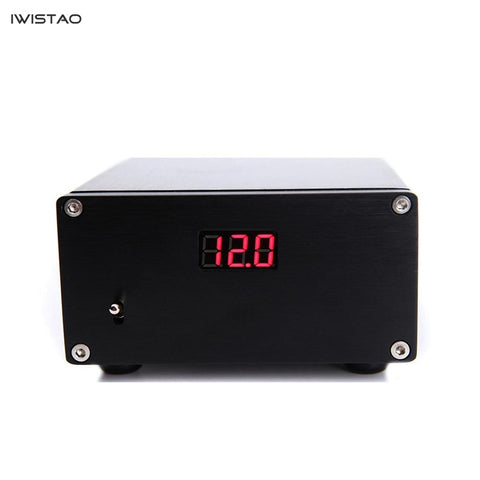 IWISTAO 50W HIFI DC Linear Power Supply for USB Amp DAC External Regulated Power Supply