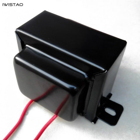 IWISTAO 5H/150mA Tube Amp Choke Coil 1 PC Pure OFC Wire with Shield Cover for Tube Amplifier Filter