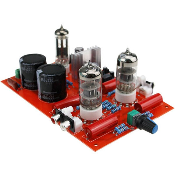 IWISTAO 6N3 Vacuum Tube Preamplifier Finished Board 6Z4 Pure Tube Rectifier HIF Including Toroidal Transformer DIY
