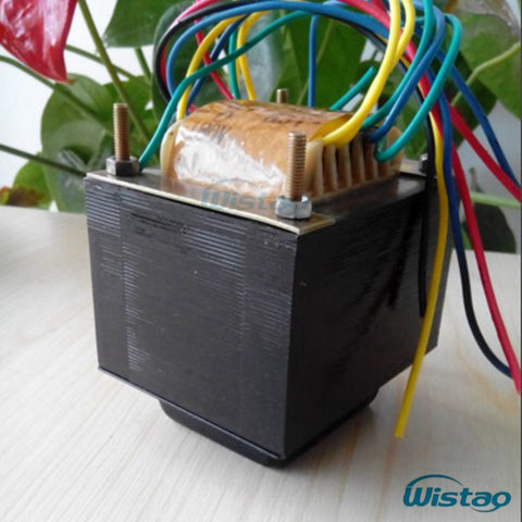 IWISTAO 92W Power Transformer EI for Tube Amp PreamP 180V-0-180V/150ma 6.3V-0-6.3v/2 A 6.3V/2A