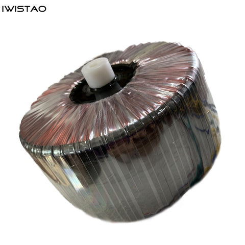 IWISTAO Customized 2200W Toroidal Transformer Pure Copper Wire Power Amplifier Double 70V (2 Groups) 15V Single 15V DIY
