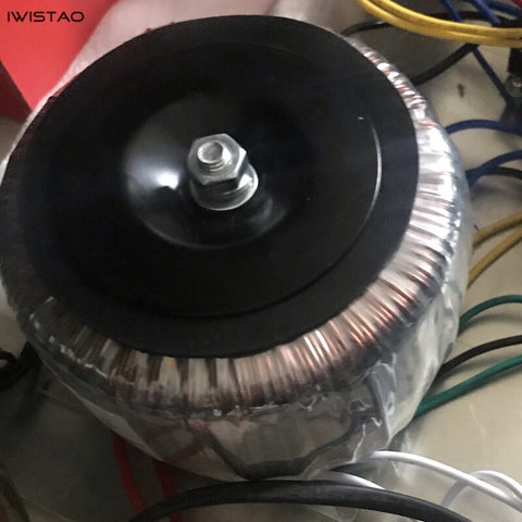 IWISTAO Customized 600W Toroidal Transformer Pure Copper Wire Power Amplifier Double 52V 15V Single 15V 12V 9V DIY