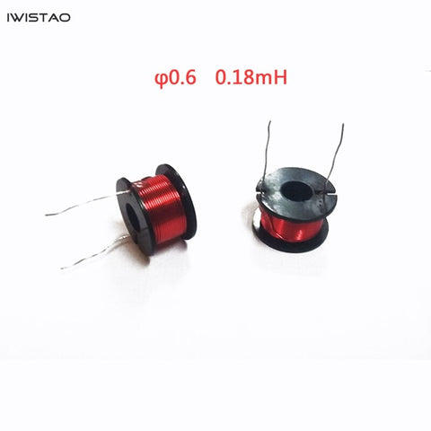 IWISTAO Dedicated Inductor for Crossover or Treble Unit Oxygen-free Copper Enameled Wire 0.13 0.18mh