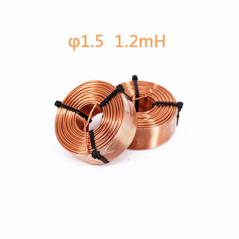 IWISTAO Dedicated Inductor for Crossover or Treble Unit Oxygen-free Copper Enameled  Wire 0.4-1.2mh
