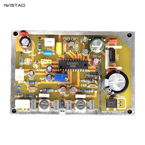 IWISTAO FM Single Decoding Board Mono to Stereo LA3401 Connect to IF Amplifier HIFI Audio DIY