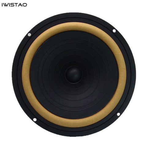 IWISTAO HIFI 6.5 Inch Full Range Speaker Unit 25W Max 55-20K HZ 93dB AlNiCo Magnet 8 ohm Leather Edge Die-cast AL Frame