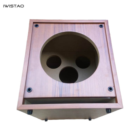 IWISTAO HIFI 8 Inch Subwoofer Empty Cabinet Passive Wooden Speaker Enclosure HDF Board DIY