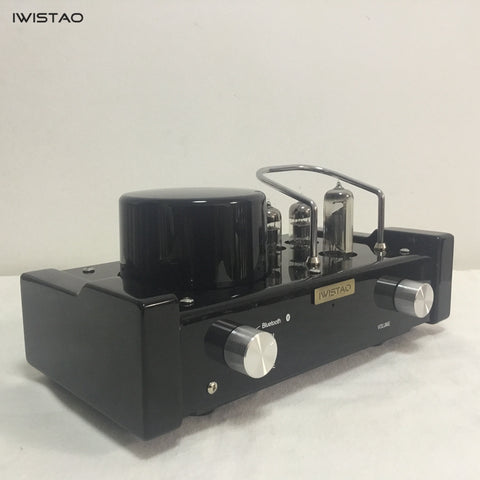 IWISTAO HIFI MINI Tube Hybrid Amplifier Bluetooth 4.0 6N1 Preamp 2x28 W APT-X 115/230V