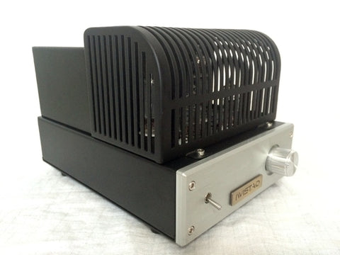 IWISTAO HIFI Mini Tube Amp 2x3W Class A Single-ended 6J1 Preamp 6P1 Power Stage Amp 110~240V