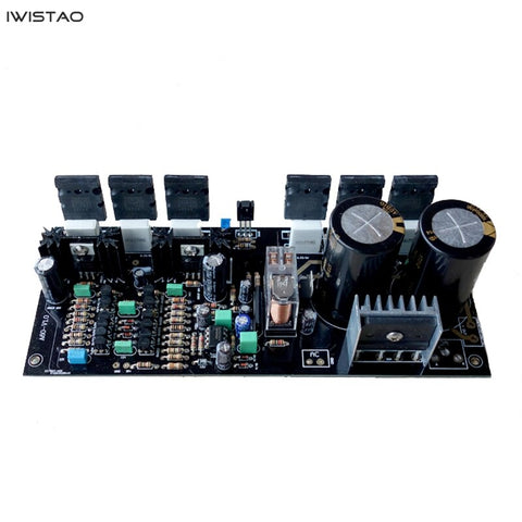 IWISTAO HIFI Power Amplifier Finished Board 1 Pair 200W Golden Throttle A60 AC24VX2 ~ AC42VX2 DIY