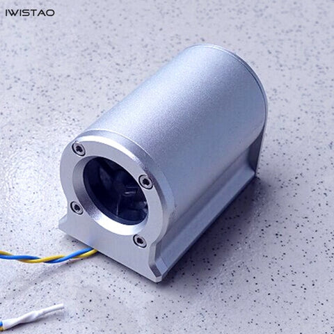 IWISTAO  HIFI Tremble Speaker 1 Inch Tweeter 1Pair External Aluminum Casing Compensation Full Speaker