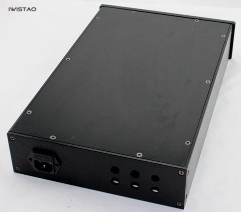 IWISTAO HIFI Tube Amplifier Casing W236*D363*H70mm Whole Aluminum Black