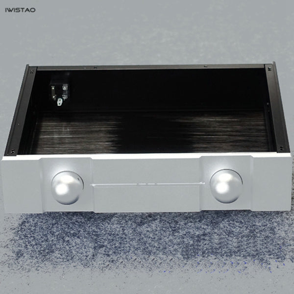 IWISTAO HIFI Tube Amplifier Casing W320*D248*H70mm Aluminum Excluding Switch & Potentiometer