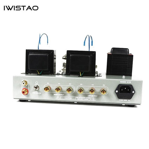 IWISTAO HIFI Tube Headphone Amplifier 1W output 32 to 600 ohm & Tube Amp 2X8W 6N2 Drive FU32
