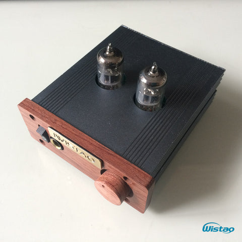 IWISTAO HIFI Tube Headphone Amplifier 6J1 Vacuum 500MW 32-600 ohm Built-in Booster Circuit