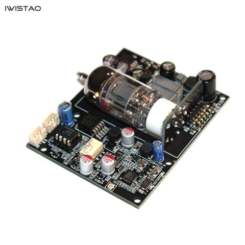 IWISTAO HIFI Vacuum Tube Bluetooth 5.0 Audio Hardware Decoding Board 12AU7 CSR8675 ESS9018 APTX-HD