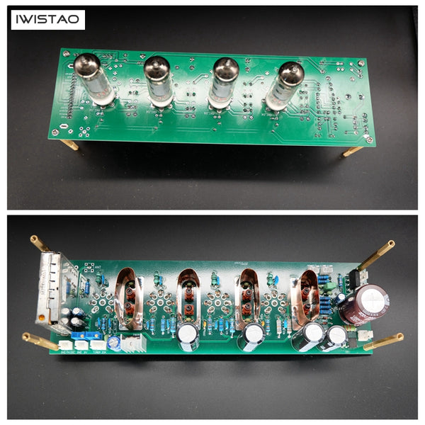 IWISTAO Intermediate Frequency Amplification PCBA Tube 6K4 High-frequency Head HIFI Audio DIY