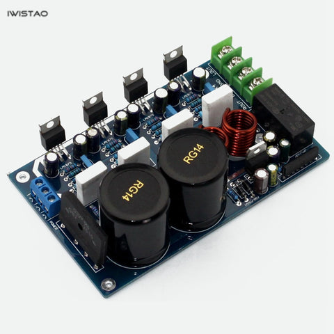 IWISTAO LM1875 Parallel Power Amplifier Board 2x50W Stereo HIFI Audio DIY