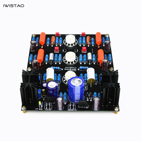 IWISTAO Moving Magnetic MM Tube Phono Stage Finished Board M7 12AX7 No including Tubes Transformer