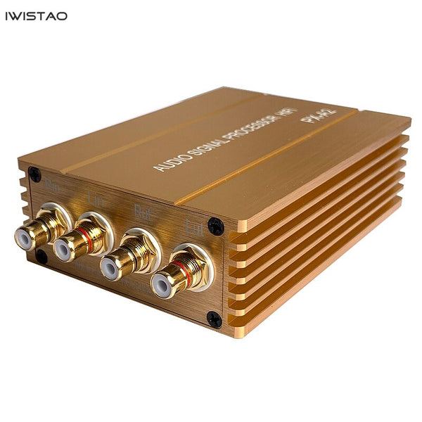 IWISTAO Passive Preamplifier Audio Signal Boosting Transformer RCA to RCA for Smartphone PC MC HIFI