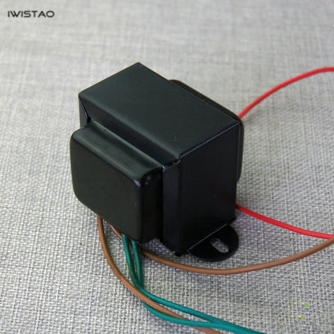 IWISTAO Power Transformer EI for Tube Preamp 180V/45mA 12.6V/0.8A for 12AX7/T7/U7 HIFI Audio