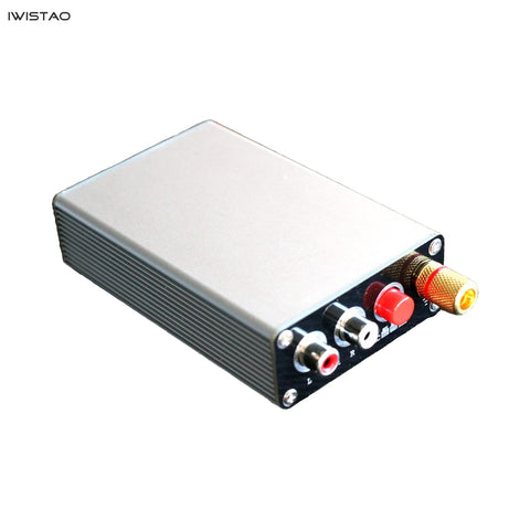 IWISTAO Pure Class A MM/MC Phono Stage Compatible LP Phonograph Amp Black Vinyl High Cost Effective