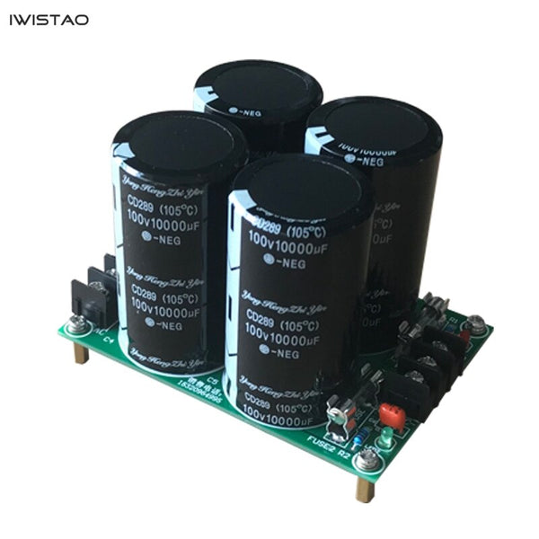 IWISTAO Rectifier Filter Finished Board HIFI Positive and Negative Filter Dual Power for Amplifier