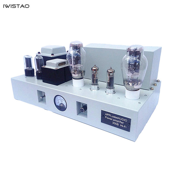 IWISTAO Single-ended Tube Amplifier Tube Amplifier Mono-block Integrated West Electric Master 2x8W Vacuum Tube 6F3 Drive 300B 5Z2P Rectifier