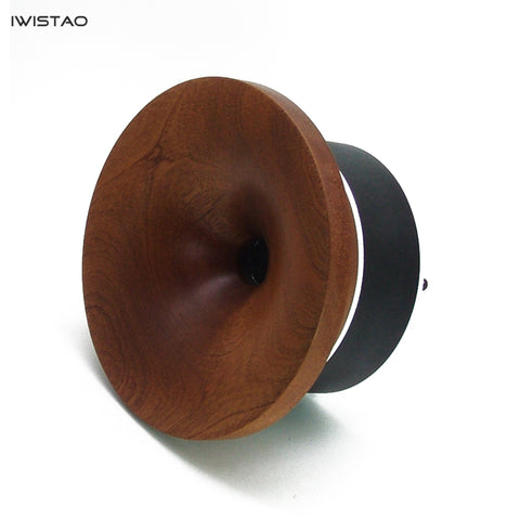 IWISTAO Solid Wood Horn Super Tweeter 1 inch 8 ohm Max 40W 1.2-32Khz Compensation Full Range