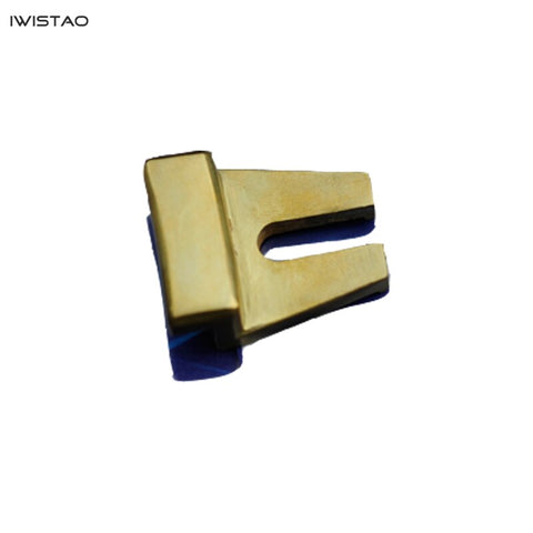 IWISTAO Speaker 's Clamp for 12, 15, 18 Inches Speaker Unit Brass 1 set