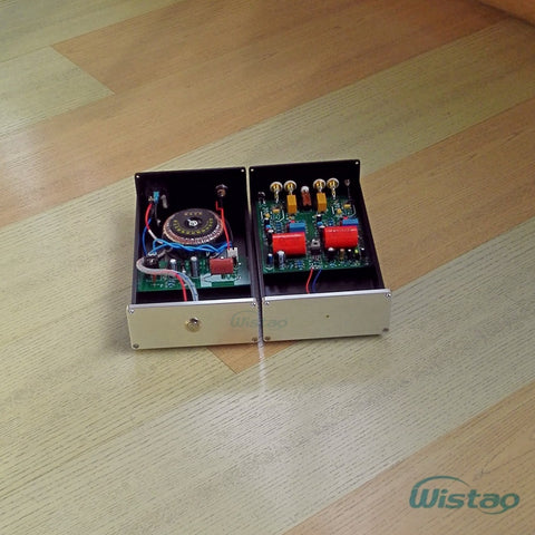 IWISTAO Split-type MM/MC Phono Stage Amplifier Replace Boosting Transforme for LP Phono HIFI Audio