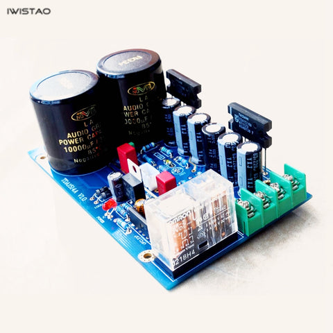IWISTAO TDA1514A Chip Power Amplifier Board Kit or Finished PCBA 2x40W Stereo HIFI Audio DIY
