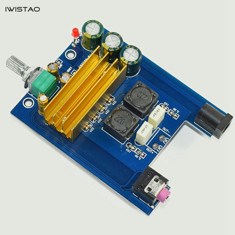IWISTAO TPA3116 Amplifier Class D Board High-power Finished Boards Mono 100W DIY
