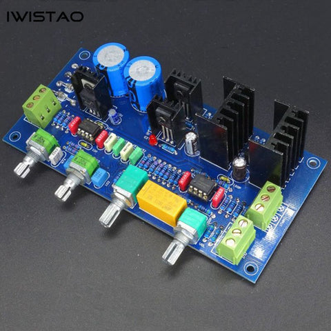 IWISTAO Tone Adjustment Board NE5532 Bass Middle Treble Volume Adjustments HIFI Audio