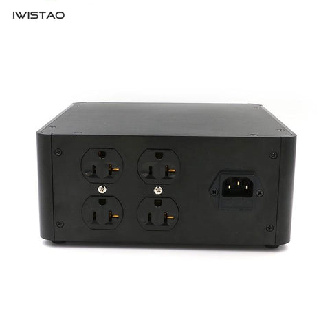 IWISTAO Toroidal Transformer 500W Balanced Isolation Box for Preamp CD player Headphone Amp LP