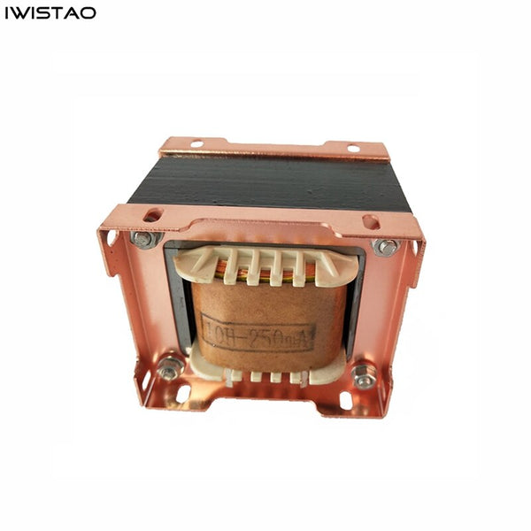 IWISTAO Tube Amp Choke Coil 10H 250mA Japanes Z11 Annealed Silicon Steel Sheets EI76 Amplifier Filter Audio HIFI DIY