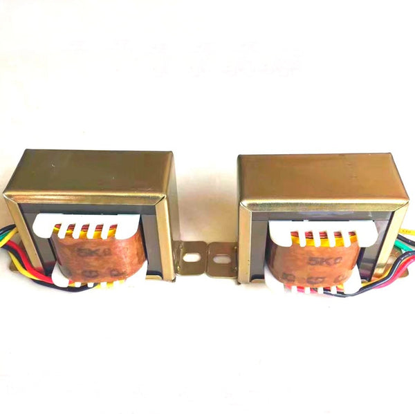 IWISTAO Tube Amplifier Output Transformer 1Pair 5W Ultra Linear Z11 Single-ended 6P1 6P14 6P6