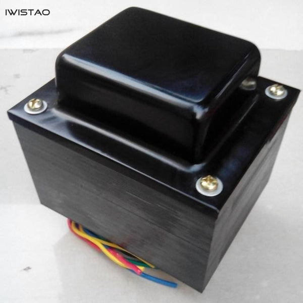 IWISTAO Tube Amp Power transformer 260W 320V 5V 12V 35V 6.3V Silicon Steel Sheets OFC Wire DIY