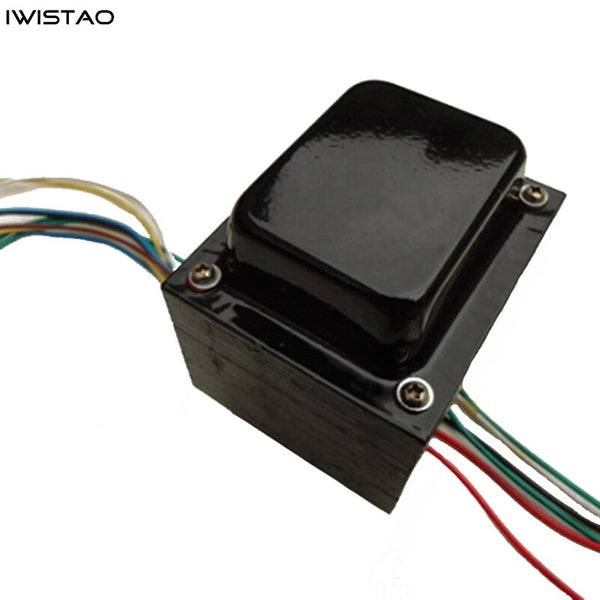 IWISTAO Tube Amp Power Transformer 300W 350V-0-350V 5V 6.3V Silicon Steel Sheets Oxygen-free Copper Wire Audio DIY