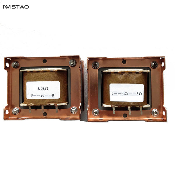 IWISTAO Tube Amp 15W Output Transformer 1Pair Z11 Single-ended Silicon Steel 3.5K Ultra Linear