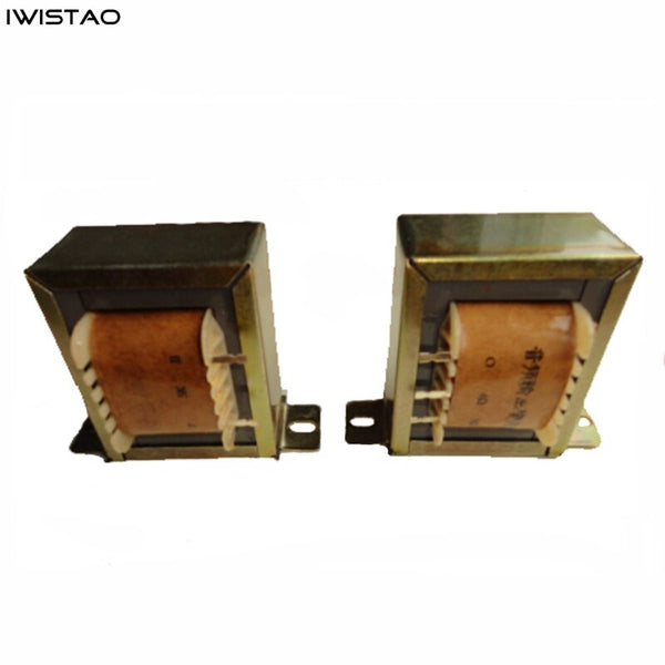 IWISTAO Tube Amplifier Output Transformer 6.5W Single-ended Silicon Steel Power 6P1/6P6P/6P14/6V6 Audio HIFI DIY