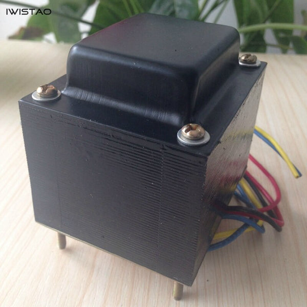 IWISTAO Tube Amplifier Power Transformer 85W Horizontal for 6P1 6P14 6P6 Audio 110/220V DIY