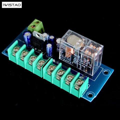 IWISTAO UPC1237 Speaker Protection Board Omron Relay HIFI Amplifier Audio 200WX2 2-8 Ohms DIY