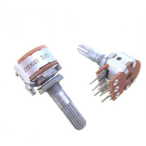 Japanese original ALPS16 Type Volume Potentiometer Universal Rachis 100KA 50KA HIFI DIY
